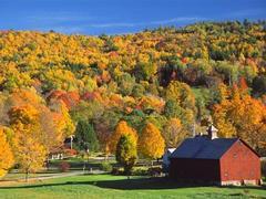 Herbstlandschaften in Kanada und Neuengland