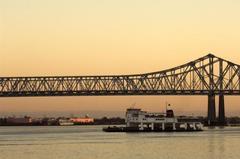 Unterer Mississippi: Memphis - New Orleans