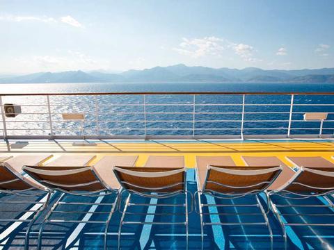 Sonnendeck - Das Blau des Meeres