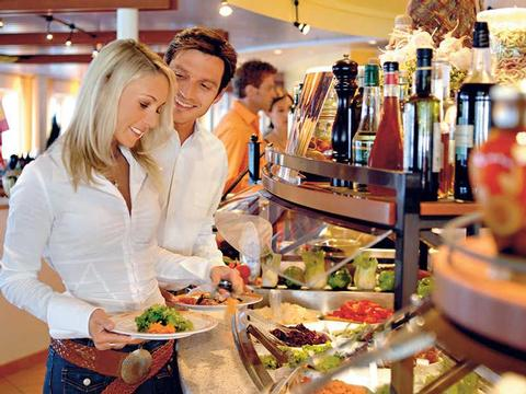 Restaurants - Weltreise Kreuzfahrt ab/bis Hamburg