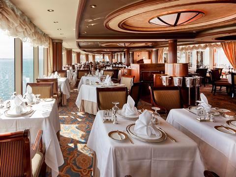 Restaurants - Weltentdeckerreise - Transatlantik - USA - Neuseeland