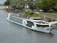 Vorweihnachtliche Donau